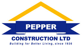 Pepper Construction Logo