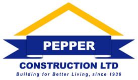 Pepper Construction Logo